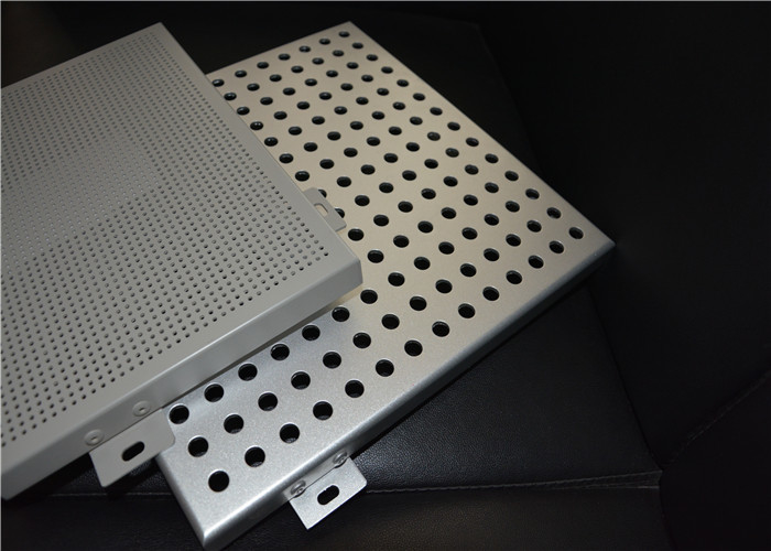 Film Coated Perforated Aluminum Panels 0.5mm To 200mm Hole